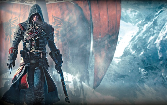 Wallpaper Assassin's Creed: Rogue, Ubisoft games