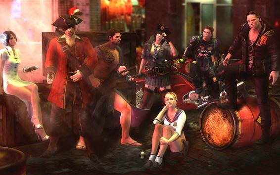 Fondos de pantalla Juegos clásicos, Resident Evil 6