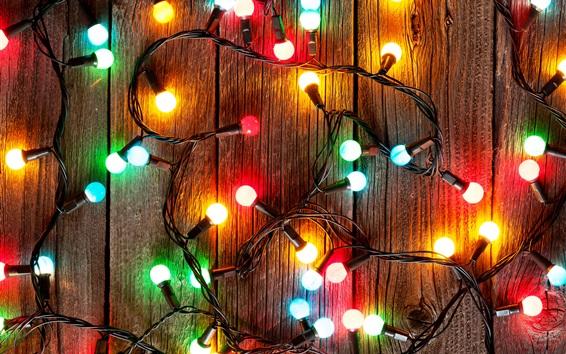 Papéis de Parede Colorido festival luzes, lâmpada, decoração