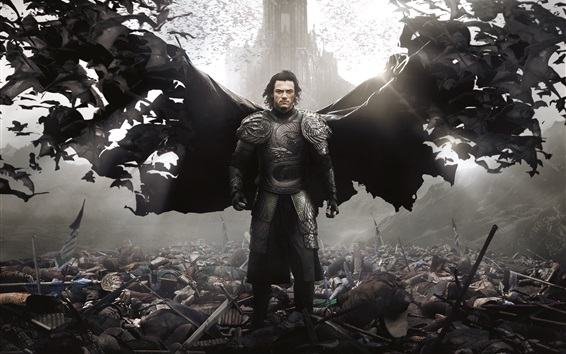 Wallpaper Dracula Untold, Luke Evans