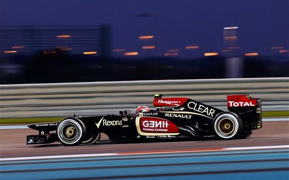 Fondos de pantalla Fórmula 1, F1 carrera de coches de alta velocidad
