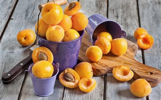 Wallpaper Fruit apricots