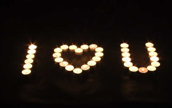 Dich Kerzen Ich Liebe