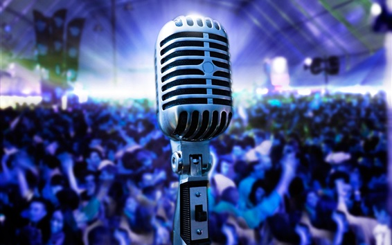 Wallpaper Microphone photography