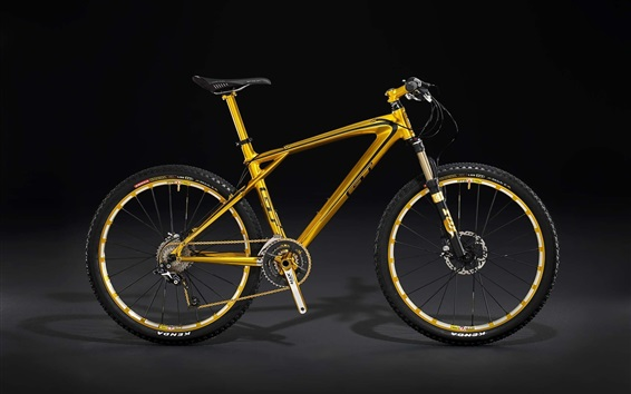 Wallpaper Mountain bike, black background