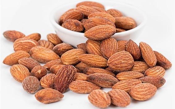 Wallpaper Roasted almonds