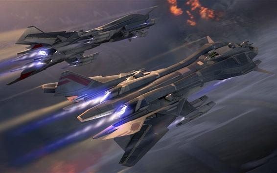 Обои Космические корабли, космос, полет, арт-дизайн