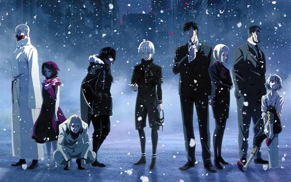 Wallpaper Tokyo Ghoul, anime HD