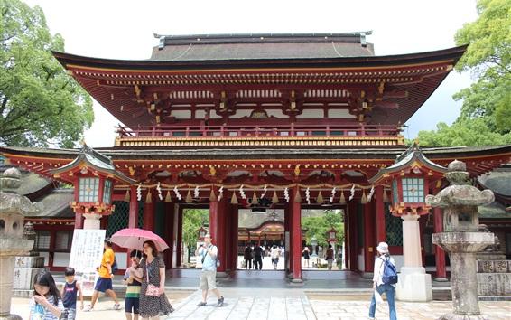 Fond d'écran Voyage au Japon, Dazaifu