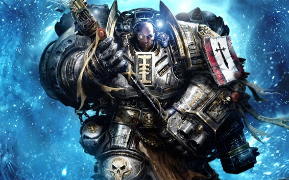 Fondos de pantalla Warhammer 40K, Caballeros Grises
