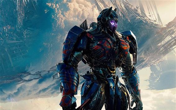 Fondos de pantalla 2017 Transformers: El último caballero, Optimus Prime