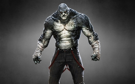 Wallpaper Batman: Arkham Origins, Killer Croc