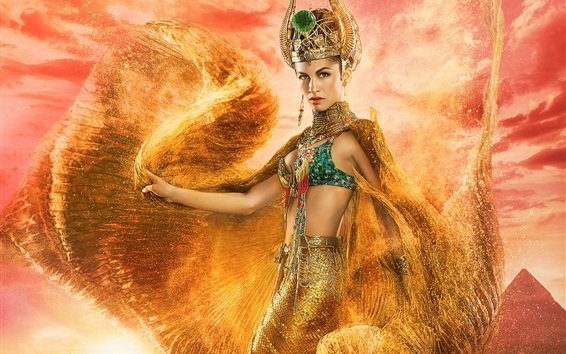 Wallpaper Elodie Yung, Gods of Egypt