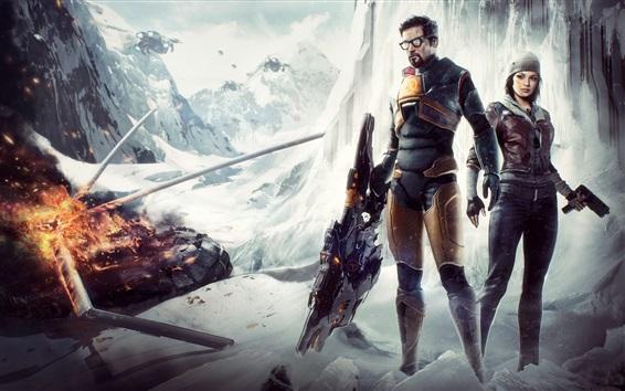 Wallpaper Half-life 2, PC games
