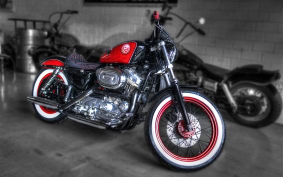 壁紙 ハーレーダビッドソンF95カスタムオートバイ