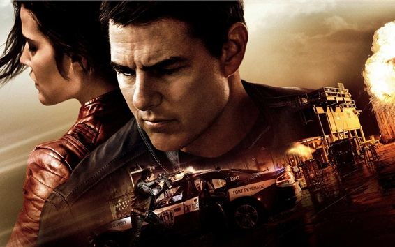 Wallpaper Jack Reacher: Never Go Back