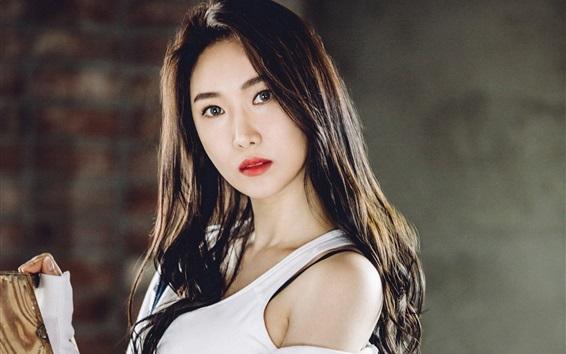 Fond d'écran Kim Minyoung, les filles courageuses 09