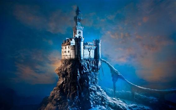 Wallpaper Lonely castle