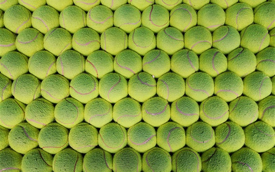 Many green tennis Wallpaper Preview