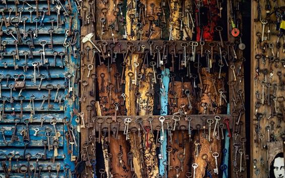 Wallpaper Many keys