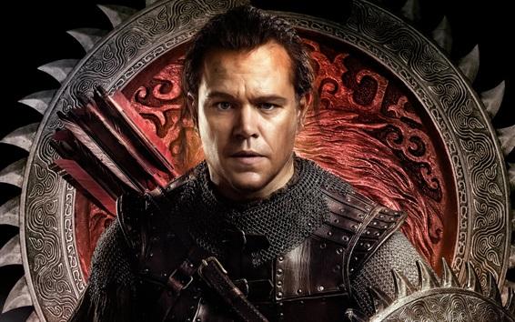 Fondos de pantalla Matt Damon, La Gran Muralla
