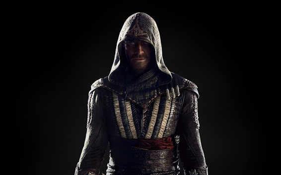 Wallpaper Michael Fassbender, Assassin's Creed 2016 movie