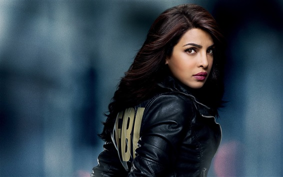 Wallpaper Priyanka Chopra, FBI TV series