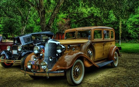 Wallpaper Rolls-Royce classic cars, retro