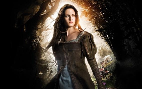 Fondos de pantalla Blancanieves y el cazador, Kristen Stewart