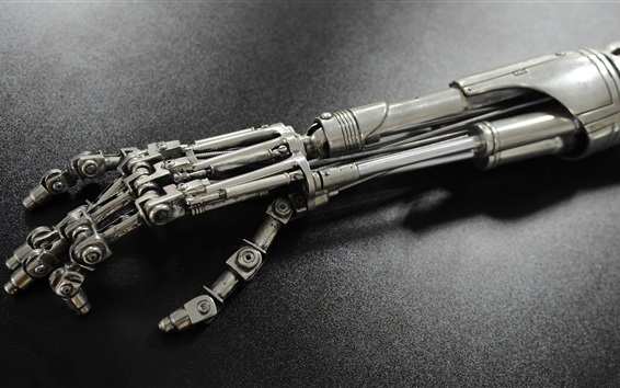 Papéis de Parede Terminator cyborg T-800 braço