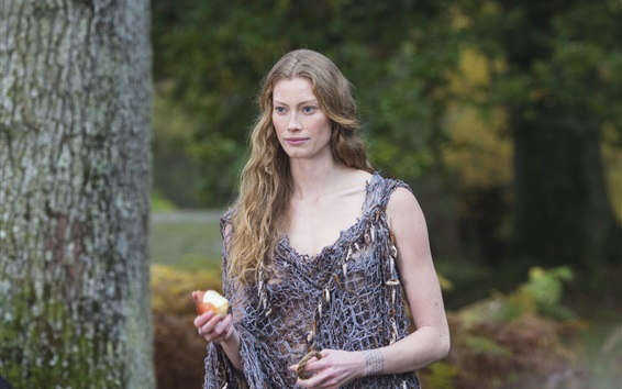 Fondos de pantalla La serie de televisión Vikings, Alyssa Sutherland