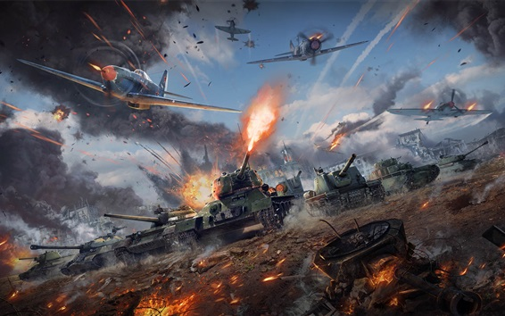 Wallpaper War Thunder, tanks