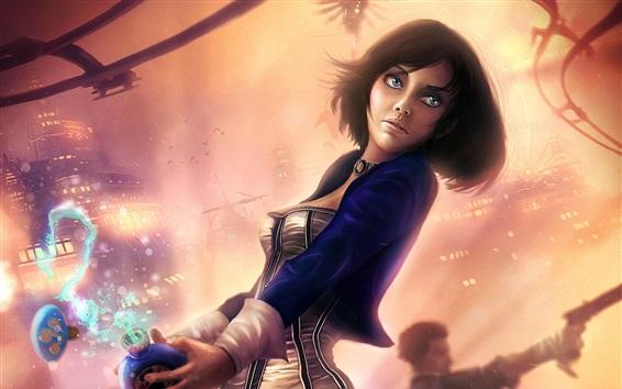 Hintergrundbilder BioShock Infinite, Elizabeth, schönes Mädchen