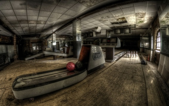 Wallpaper Bowling hall, sports
