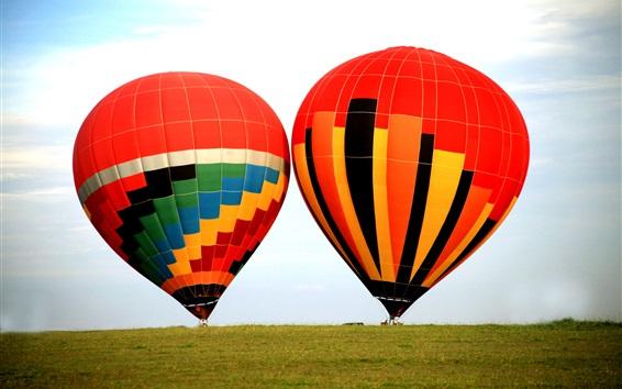 Wallpaper Extreme sports, hot air balloons, sky