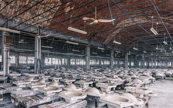 Papéis de Parede Fábrica, oficinas, produtos