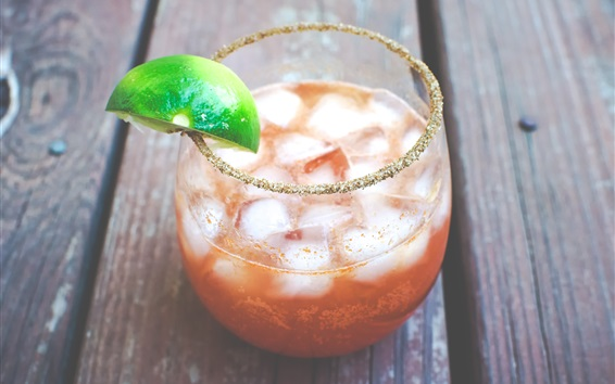 Wallpaper Michelada Cocktail, drinks