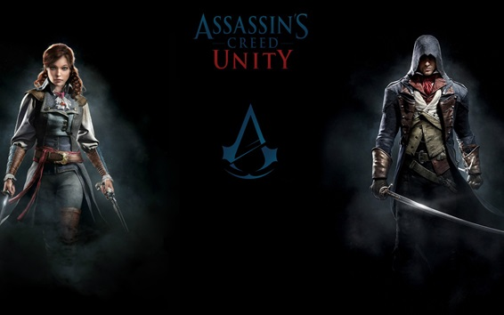 Wallpaper PC games, Assassin's Creed: Unity