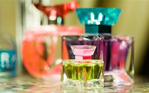 Wallpaper Perfume, bottles