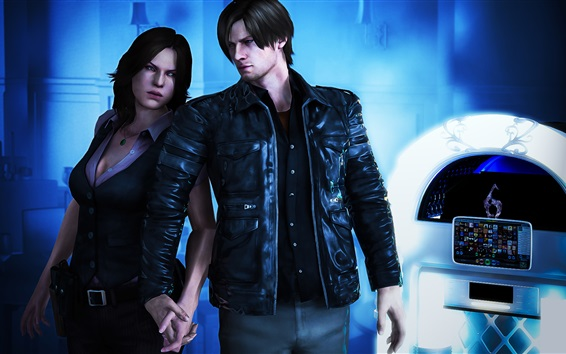 Wallpaper Resident Evil 6, classic PC games