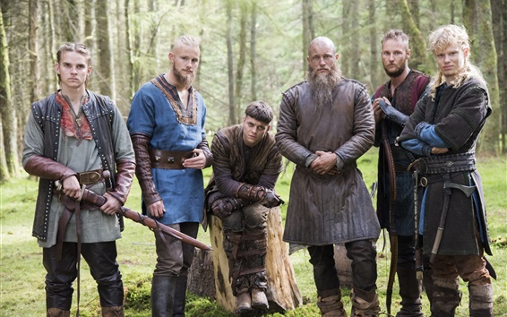 Wallpaper The Vikings, TV series HD