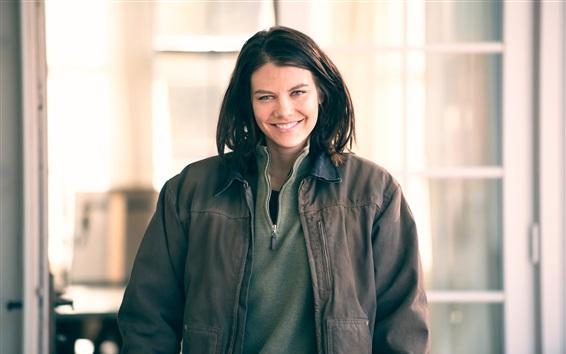 Fondos de pantalla La serie de televisión Walking Dead, Lauren Cohan