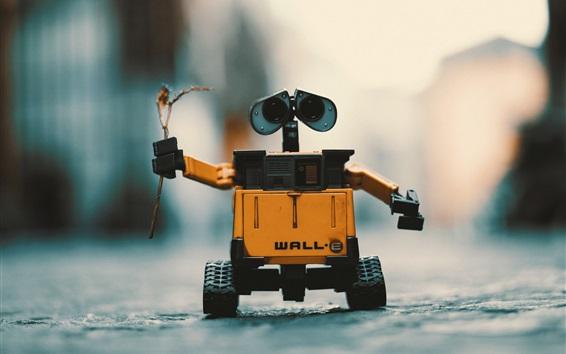 Wallpaper WALL-E robot