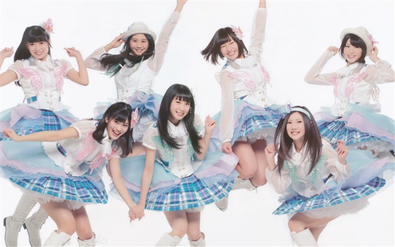 Wallpaper AKB48, Japanese music girls 01