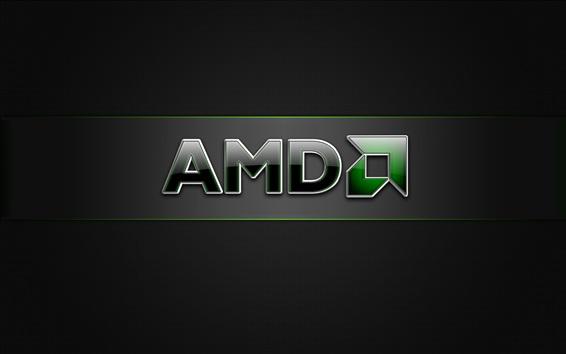 Wallpaper AMD brand logo