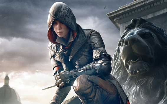 Assassin's Creed: Syndicate, beautiful girl Wallpaper Preview