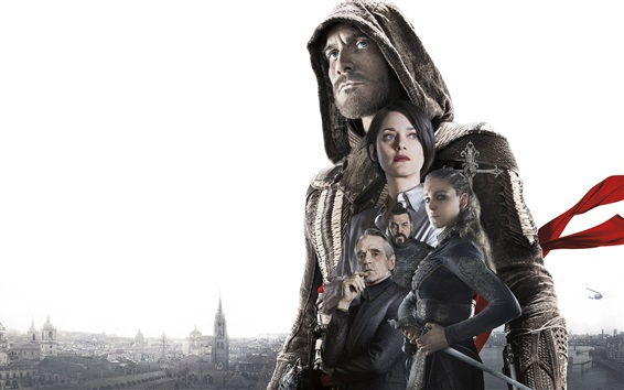 Wallpaper Assassin's Creed movie HD