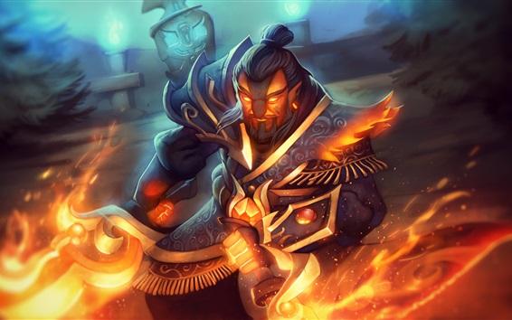 Fondos de pantalla DOTA 2, guerrero, magia