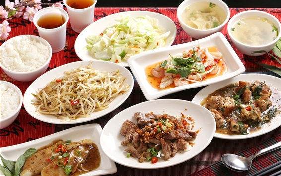 Wallpaper Delicious meals, Japanese cuisine