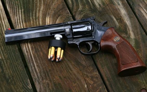 Wallpaper Gun, weapon, 357 Magnum revolver